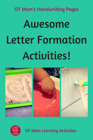 Letter Formation Activities