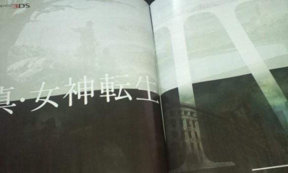 shin megami tensei iv 3ds Shin Megami Tensei IV anunciado para Nintendo 3DS