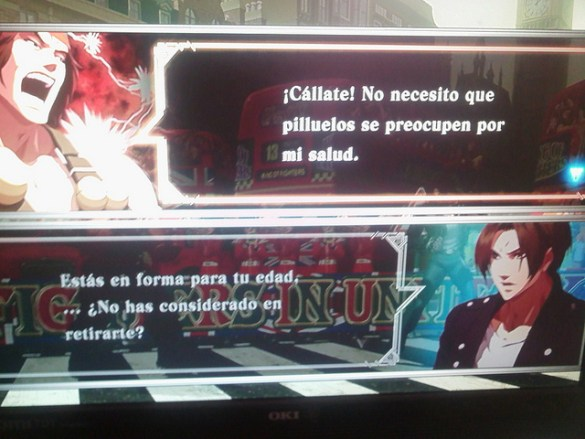 the king of fighters xiii traduccion español 7 La traducción española de The King of Fighters XIII da mucho miedooorl