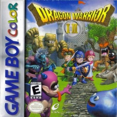 dragon warrior i ii espanol castellano 400x398 Dragon Warrior I & II de Game Boy Color traducido al español