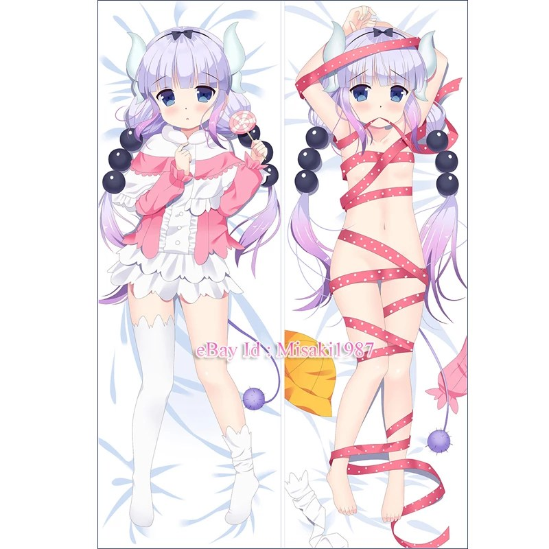 Neko Girl Live Wallpaper Miss Kobayashi S Dragon Maid Dakimakura Kanna Anime Body