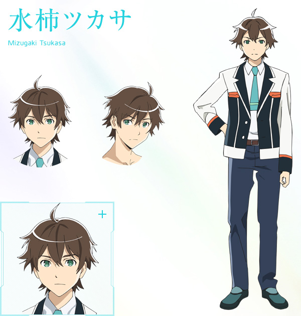 Good Character Design In Anime : Plastic memories anime airs april cast announced otaku