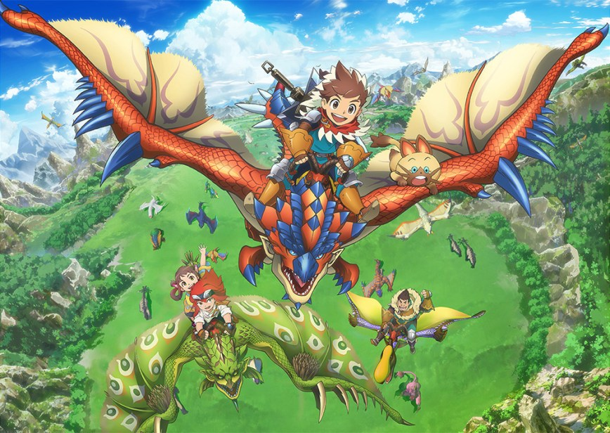 Monster Hunter Stories Anime Airs This October - Title ...
