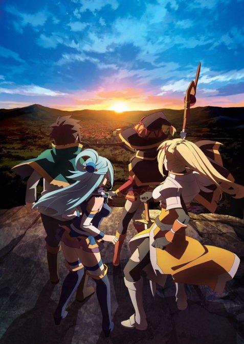 Kono-Subarashii-Sekai-ni-Shukufuku-wo-Season-2-Visual - Kono Subarashii Sekai ni Shukufuku wo! 2 [04/10][Mega][84MB][CR/FS]  - Anime Ligero [Descargas]