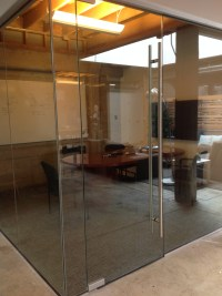 Glass Conference Room with ADA Hardware - OT Glass