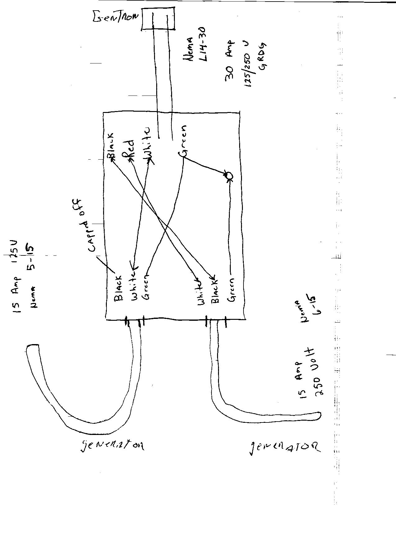 shore power cord wiring diagram
