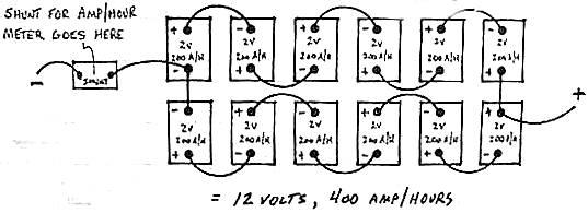 12 volt battery 12 volt battery wiring diagram