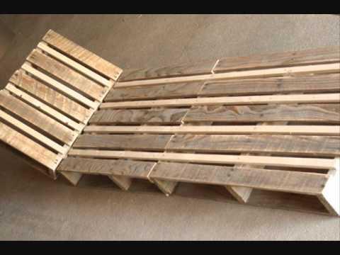 r aliser une chaise longue avec des palettes de r cup ration mega tuto tous les tutoriels. Black Bedroom Furniture Sets. Home Design Ideas