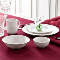 Whole Home/MD ''Carlyle'' 60-Piece Embossed Dinnerware ...