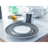 Whole Home/MD 16-Piece Dinner Set with Decal - ''Reid ...