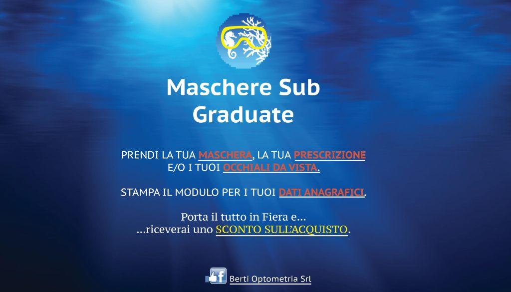 maschere graduate eudi show