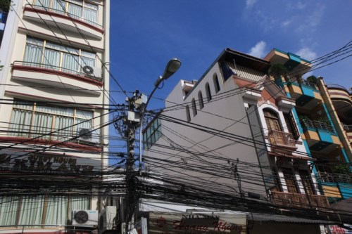 Isn't this how all cities are wired?  This is completely normal!