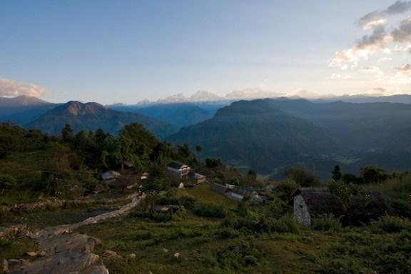 Naepal lamjung district