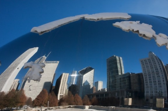 Chicago Bean Sculpture