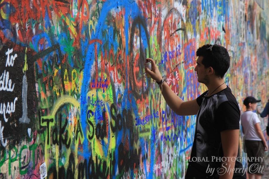 graffiti prage