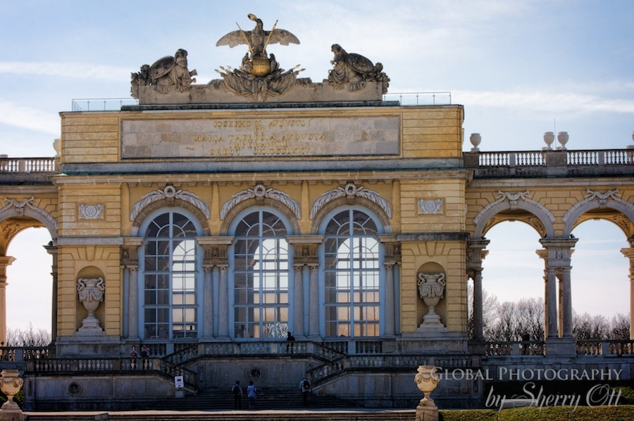 upper garden schonbrunn palace