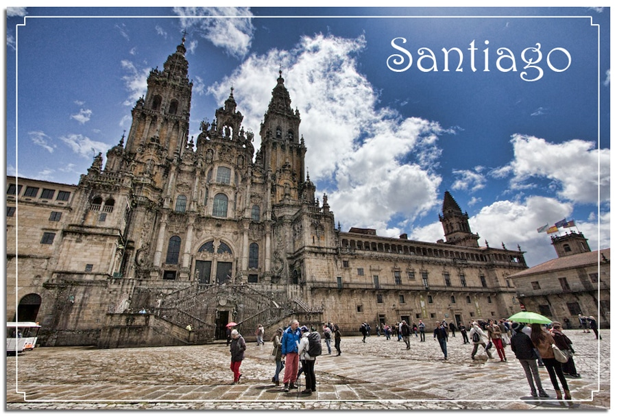 Santiago Spain cathedral