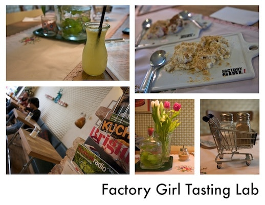 Factory Girl collage