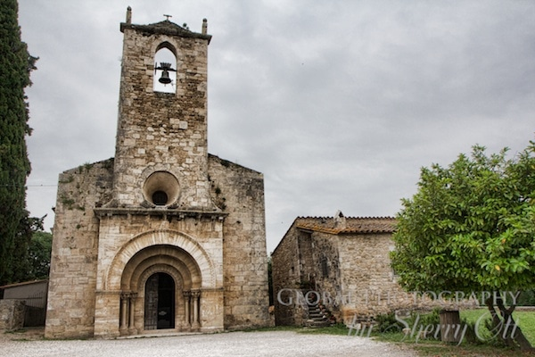 church banyoles spain