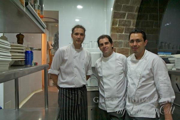 Chefs at La Rectoria