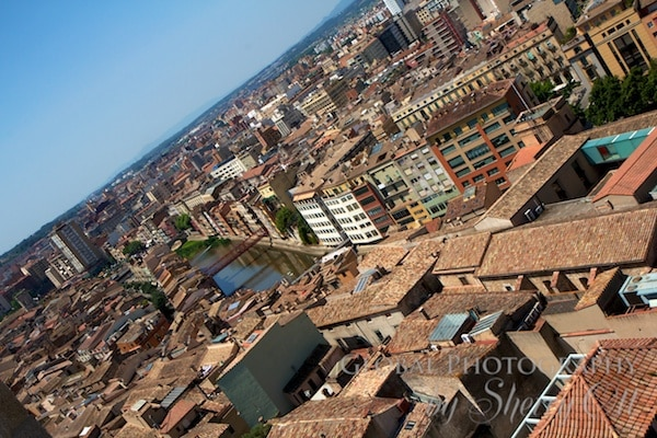 View of Girona from the bell tower