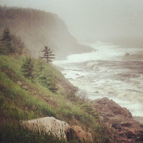 Cabot Trail in the Rain
