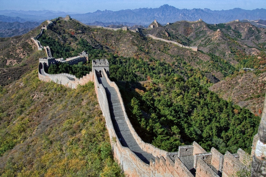 Jinshaling and Simatai trek great wall