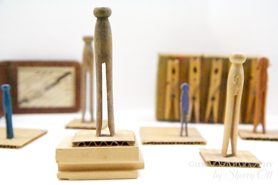 Walker art museum clothes pins