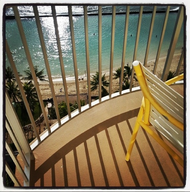 Balcony Waikiki