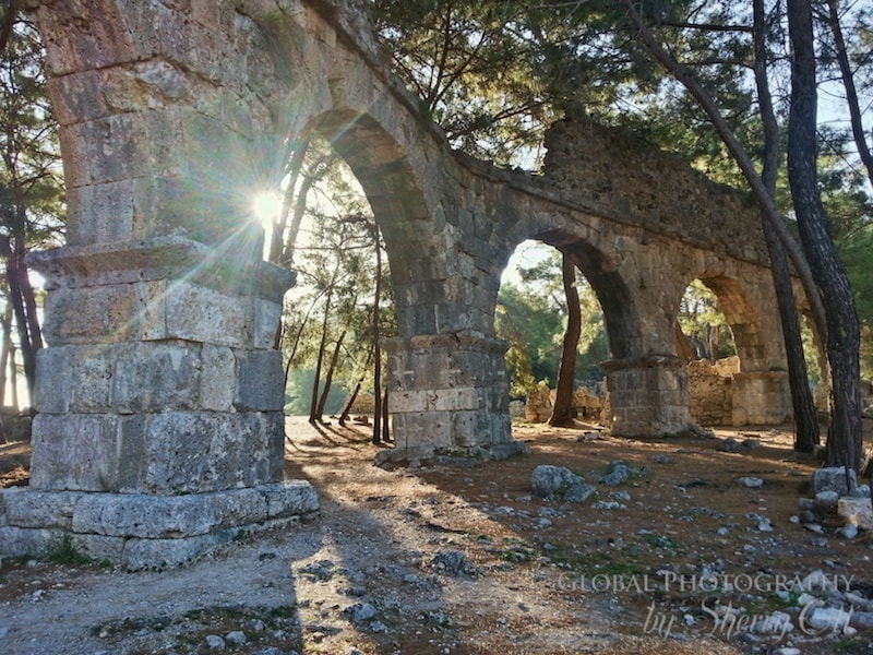 Phaselis ruins turkey