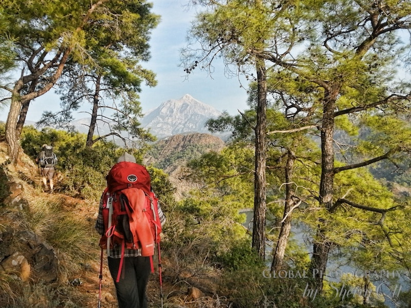Mt Olypmpus olympos Lycian Way