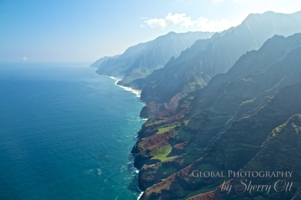 how to see the napali coast