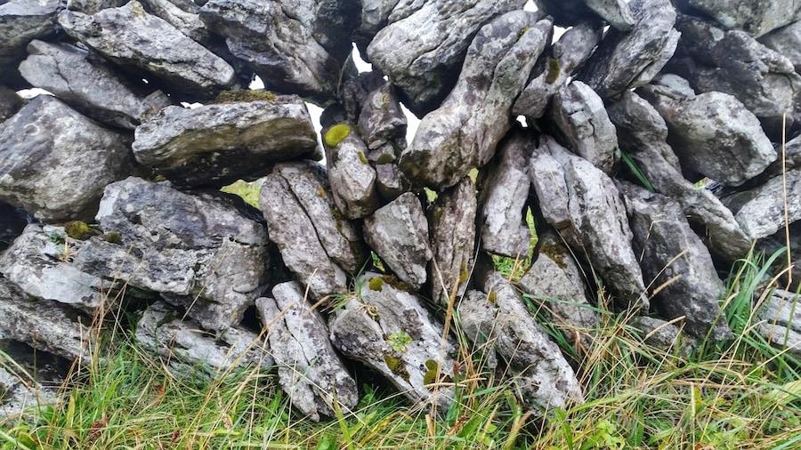 stone walls the burren ireland