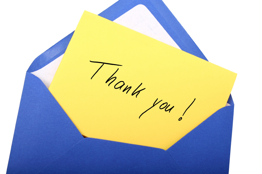 Writing Thank-You Notes to our Helpers Everyday Jewish Living OU