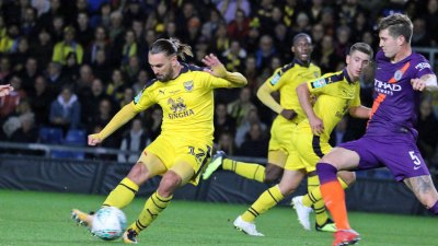 REPORT Oxford United 0 Manchester City 3 - News - Oxford United