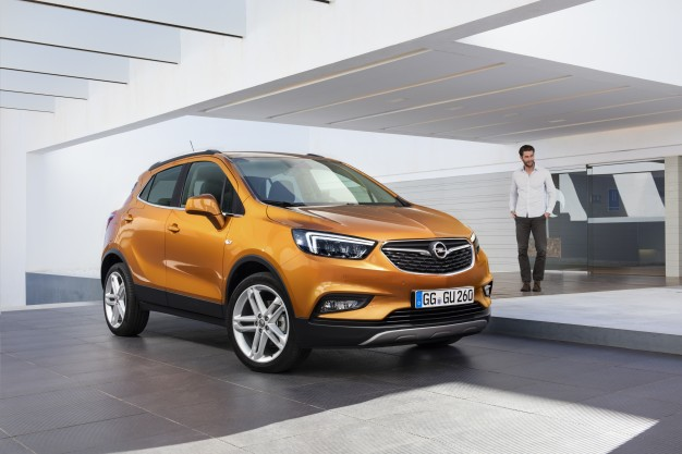 Opel Mokka X Previews Updated Buick Encore