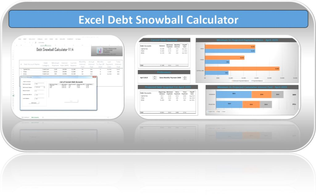 Debt Snowball Calculator - Debt Reduction Services - Debt Free To