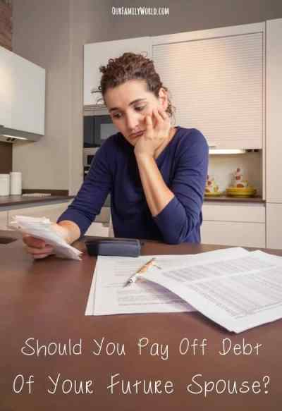 Money Tips :Should You Pay Off Debt Of Your Future Spouse?