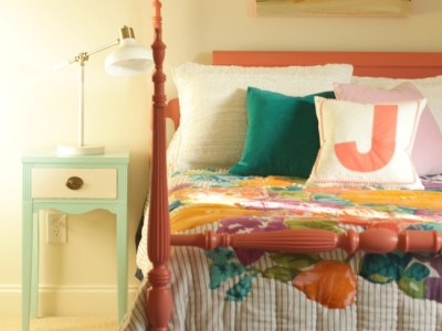 painted coral bed