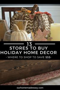 13 Favorite Places to Buy Holiday Decor on the Cheap!