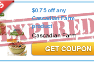 Cascadian Farms $.75/1 Printable Coupon