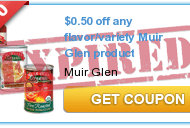 New $.50/1 Muir Glen Printable Coupons & Cascadian Farms