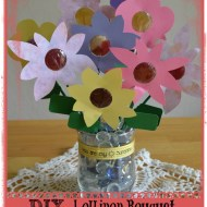 DIY Lollipop Bouquet with YumEarth Lollipops