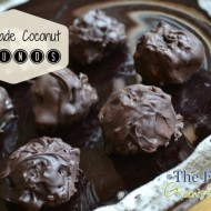 Homemade Coconut Mounds or Almond Joy Recipe
