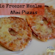 Simple Freezer Meals: Mini Pizzas