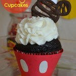 Mickey Mouse Cupcakes With Free Printable Templates
