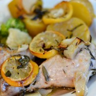 Easy Family Meals: Lemon Rosemary Garlic Chicken and Potatoes