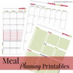 Free Printable Family Meal Planner