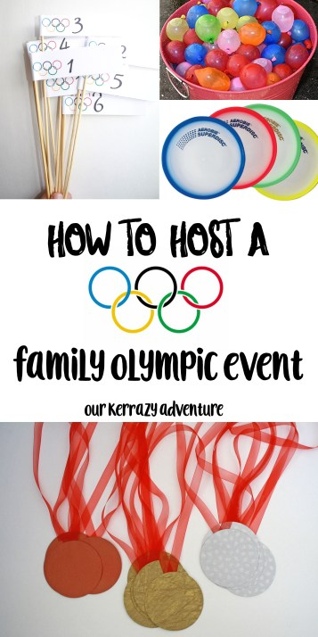 Family Olympic Event- How to Host your Own Family Olympics- Family Night Idea-