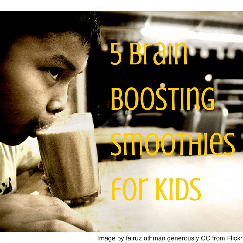 5 Brain Boosting Smoothies for Kids